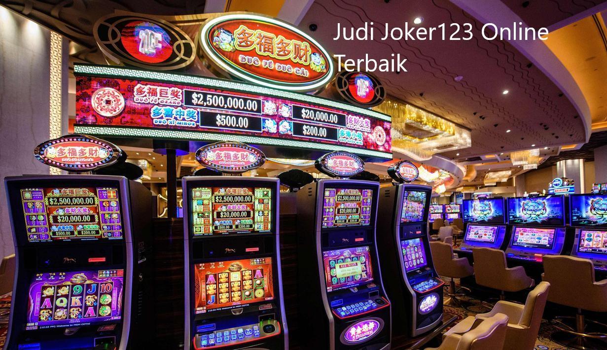 Judi Joker123 Online Terbaik
